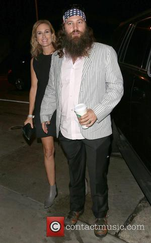 Willie Robertson and Korie Robertson - The Robertson Family arrive at Craig's - Los Angeles, California, United States - Monday...
