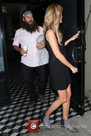 Willie Robertson and Korie Robertson - he Robertson Family at Craig's - Los Angeles, California, United States - Monday 6th...