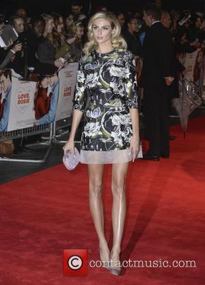 Tamsin Egerton - World premiere of 'Love, Rosie' at Leicester Sqaure, Odeon West End - London, United Kingdom - Monday...