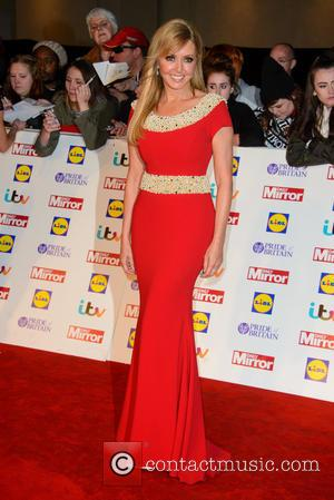 Carol Vorderman - The Pride Of Britain Awards 2014 - Arrivals - London, United Kingdom - Monday 6th October 2014