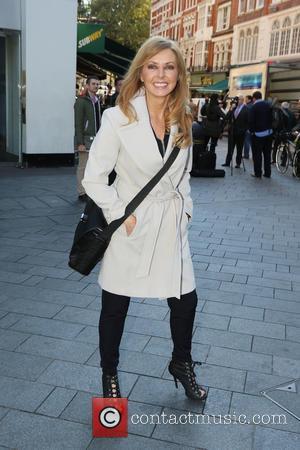 Carol Vorderman - Celebrities outside Capital Radio - London, United Kingdom - Tuesday 7th October 2014