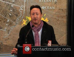 Julian Lennon - Julian Lennon at the Empire State Building in NYC - New York, New York, United States -...