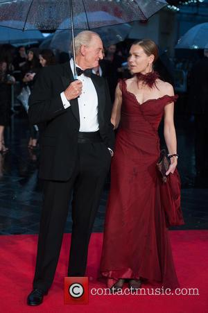 Charles Dance and Eleanor Boorman - The Imitation Game - opening film at Odeon Leicester Square - London, United Kingdom...