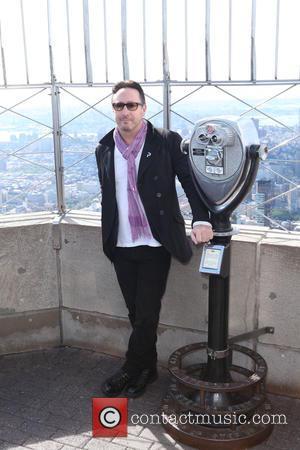 Julian Lennon - Son of John Lennon, musician Julian Lennon lit up The Empire State Building in New York City,...