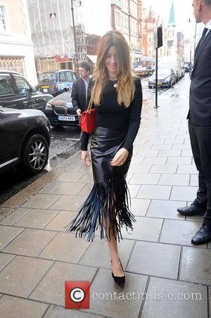 Sarah McDonald - Kate Moss out in London - London, United Kingdom - Wednesday 8th October 2014