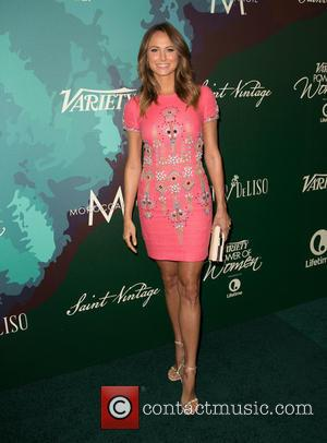 Stacy Keibler - Variety's 2014 Power of Women luncheon - Arrivals at Beverly Wilshire Four Seasons Hotel - Los Angeles,...