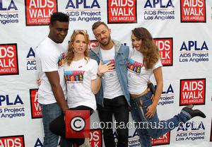 Keo Motsepe, Lea Thompson, Artem Chigvintsev and Karina Smirnoff - A variety of Celebrities attended the 30th Annual AIDS Walk...