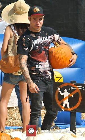 Pete Wentz - Bassist from the American rock band Fall Out Boy Pete Wentz visited Mr. Bones Pumpkin Patch with...