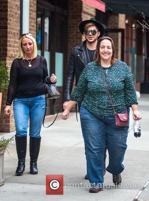 Adam Lambert - Adam Lambert seen strolling around Tribeca at Tribeca - New York City, New York, United States -...