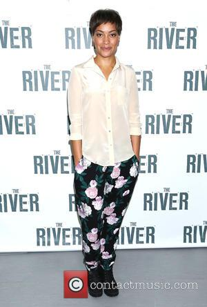 Cush Jumbo - Hugh Jackman The River Photo Call at Circle in the Square rehearsal space, - New York, New...
