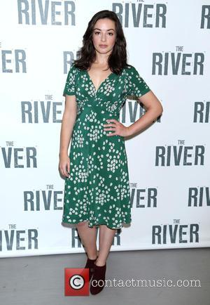 Laura Donnelly - Hugh Jackman The River Photo Call at Circle in the Square rehearsal space, - New York, New...