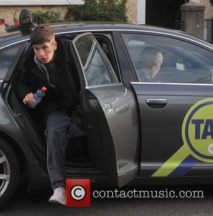 Barry Keoghan - Rachel Griffiths filming scenes for her new movie 'Mammal' - Dublin, Ireland - Wednesday 15th October 2014
