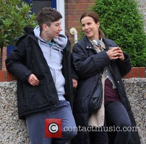 Barry Keoghan and Rachel Griffiths