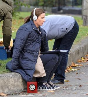Rachel Griffiths - Rachel Griffiths filming scenes for her new movie 'Mammal' - Dublin, Ireland - Wednesday 15th October 2014