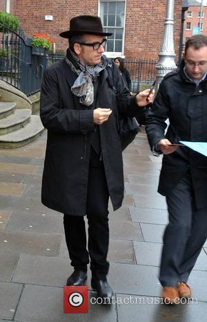 Elvis Costello - Elvis Costello Spotted - Dublin, Ireland - Thursday 16th October 2014