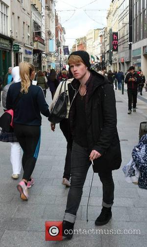 Steve Garrigan - Kodaline lead singer Steve Garrigan seen strolling down Grafton Street. The Irish rockers were forced to cancel...