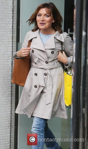 Lorraine Kelly outside the ITV studios