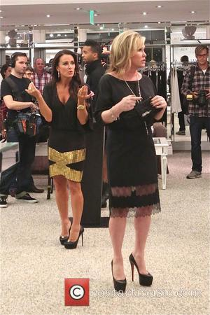 Kathy Hilton and Kyle Richards - Photos from the book signing of Nicky Hilton's '365 Style' The signing was held...