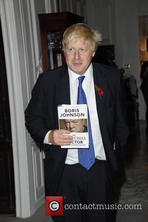 Boris Johnson - Mayor of London Boris Johnson book launch 'The Churchill Factor: How One Man Made History', written to...