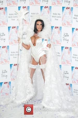 Katie Price - Katie Price launches her new book 'Make My Wish Come True' at Worx. - London, United Kingdom...