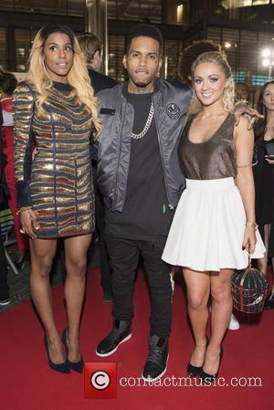 Alexa Goddard and Kid Ink - 2014 MOBO Awards - Arrivals at SSE Arena, Wembley - London, United Kingdom -...