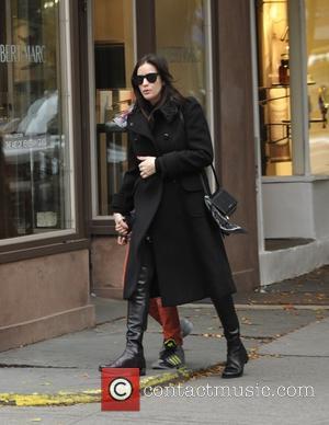 Liv Tyler - A pregnant Liv Tyler walking her son, Milo to school in Manhattan at Manhattan - New York...