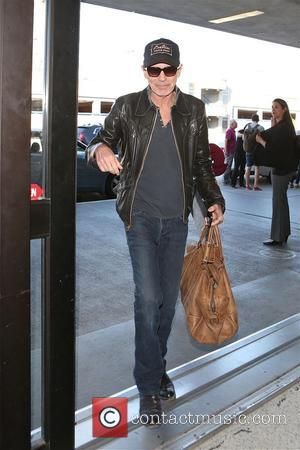 American actor and singer songwriter Billy Bob Thorton was snapped upon his arrival at Los Angeles International airport - Los...
