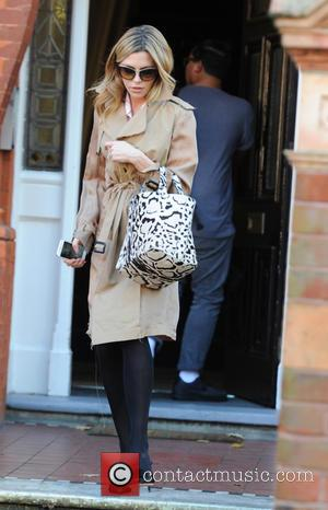 Abbey Clancy - Abbey Clancy seen out in London - London, United Kingdom - Monday 27th October 2014