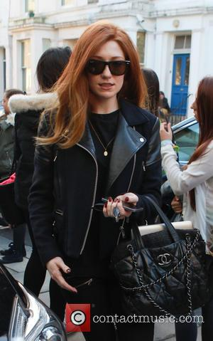 Nicola Roberts - Nicola Roberts on her way to a music studio in Notting Hill - London, United Kingdom -...