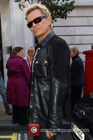 Billy Idol - Billy Idol at the BBC Radio 2 studios - London, United Kingdom - Tuesday 28th October 2014