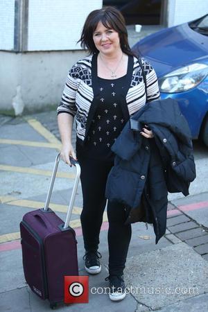 Coleen Nolan - Coleen Nolan outside the ITV studios - London, United Kingdom - Tuesday 28th October 2014
