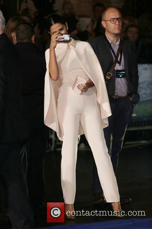 Camila Alves - Photographs of the Hollywood stars as they attended the UK Premiere of Sci-Fi movie 'Interstellar' The premiere...