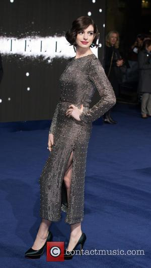 Anne Hathaway - Photographs of the Hollywood stars as they attended the UK Premiere of Sci-Fi movie 'Interstellar' The premiere...