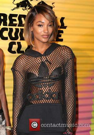 Jourdan Dunn - Snaps of various stars as they arrive at the Red Bull Culture Clash which was held at...