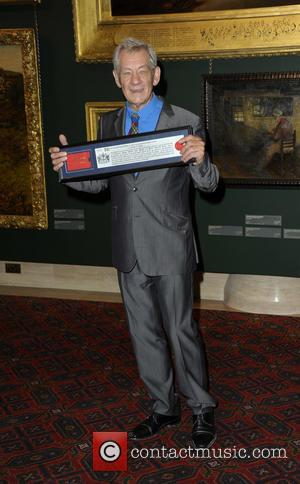Sir Ian McKellen - Sir Ian McKellen receives the Freedom of...