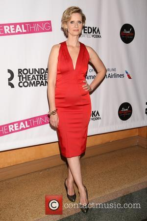 Cynthia Nixon - Shots from the Opening night after party for Broadway's new play 'The Real Thing' The party was...