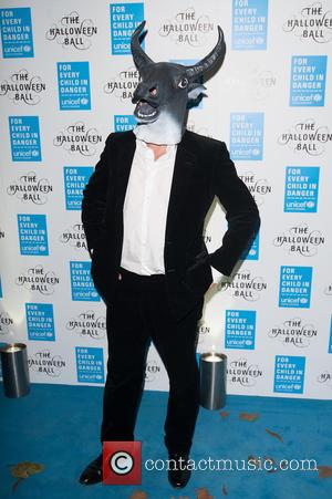 Hugh Grant - Shots from the worlds leading organisation for children UNICEF's Halloween Ball which was held at One Mayfair,...