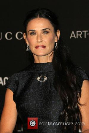 Demi Moore - A variety of celebrities were photographed as they arrived at the 2014 LACMA Art+Film Gala which honored...