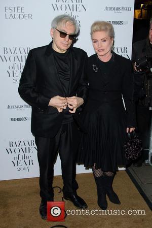 Chris Stein and Debbie Harry - Harper's Bazaar Women of the Year Awards 2014 - Arrivals - London, United Kingdom...