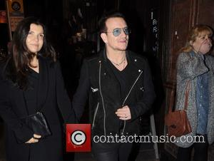 Ali Hewson and Bono - Lead singer of the Irish rock band U2, Bono held a private dinner party for...