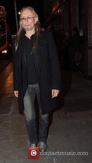 Guggi - Lead singer of the Irish rock band U2, Bono held a private dinner party for guests from the...