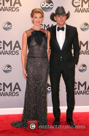 Faith Hill and Tim McGraw - Shots of a variety of stars as they took to the red carpet for...