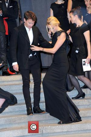 James Blunt and Sofia Wellesley - GQ Maenner des Jahres (Men of the year) award 2014 at Komische Oper in...