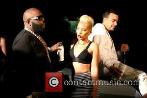 Rick Ross, Jaleesa Mitcheil and French Montana - Rick Ross shoots his new music video for the song 'If They...