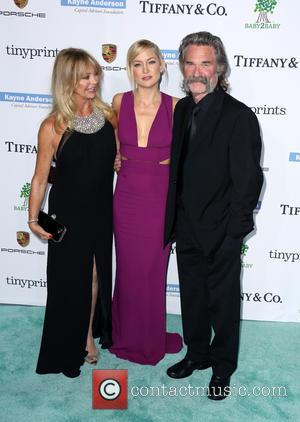 Goldie Hawn, Kate Hudson and Kurt Russell - A variety of stars were photographed as they arrived at the 2014...