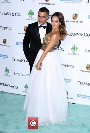Jessica Alba and Cash Warren - A variety of stars were photographed as they arrived at the 2014 Gala held...