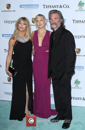 Goldie Hawn, Kate Hudson and Kurt  Russell - A variety of stars were photographed as they arrived at the...
