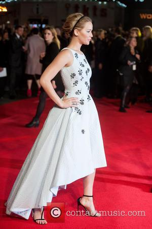Jennifer Lawrence - 'The Hunger Games: Mockingjay, Part 1' world premiere held at the Odeon Leicester Square - Arrivals at...