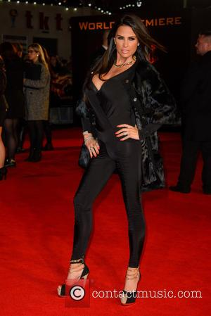 Katie Price - Shots from the red carpet ahead of the world premiere of the latest film in the Hunger...