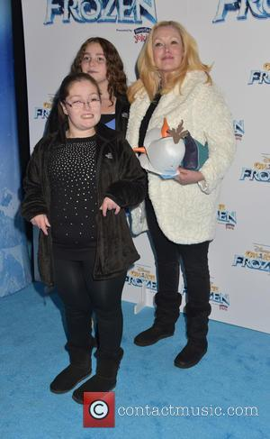 Cathy Moriarty and Children